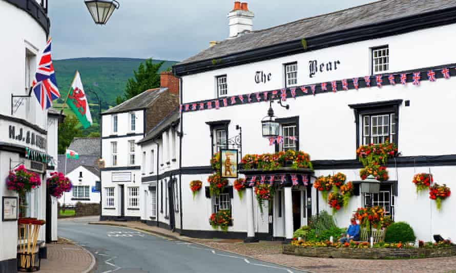 'A great base for exploring the Brecon Beacons': Crickhowell, Powys.