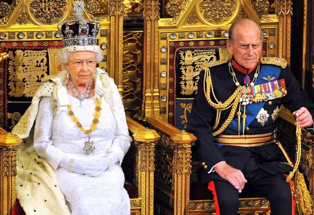 The Queen at a previous State Opening of Parliament