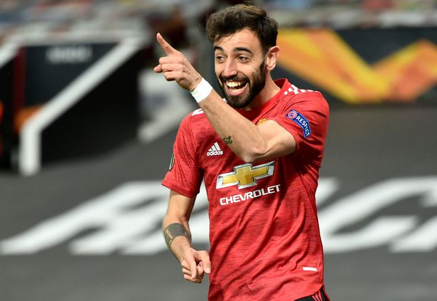Bruno Fernandes could be set for a huge pay rise at Manchester United