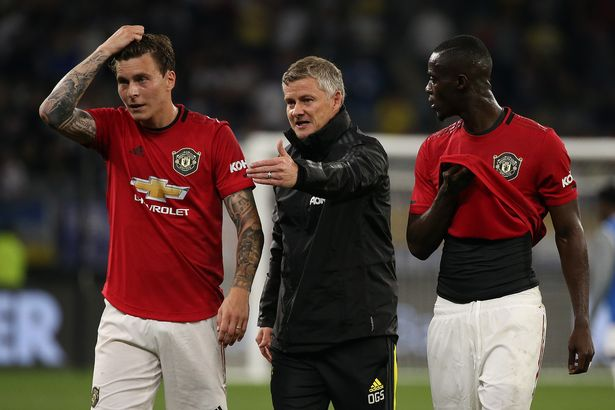 Victor Lindelof and Eric Bailly are likely to come in should the Man Utd skipper remain sidelined