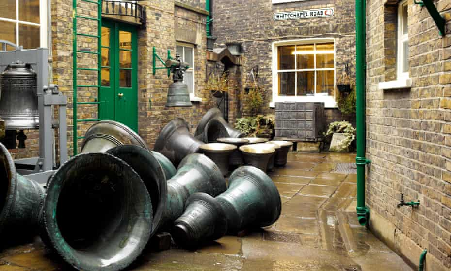 The courtyard of the Whitechapel Bell Foundry in 2011.