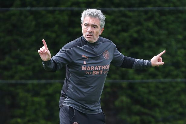Juanma Lillo replaced Mikel Arteta at Manchester City