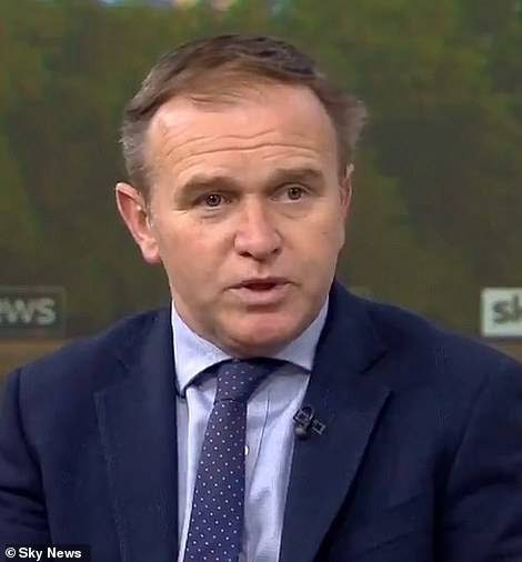 Environment secretary George Eustice revealed No10 was 'closely monitoring' several localised coronavirus outbreaks that have cropped up in recent weeks
