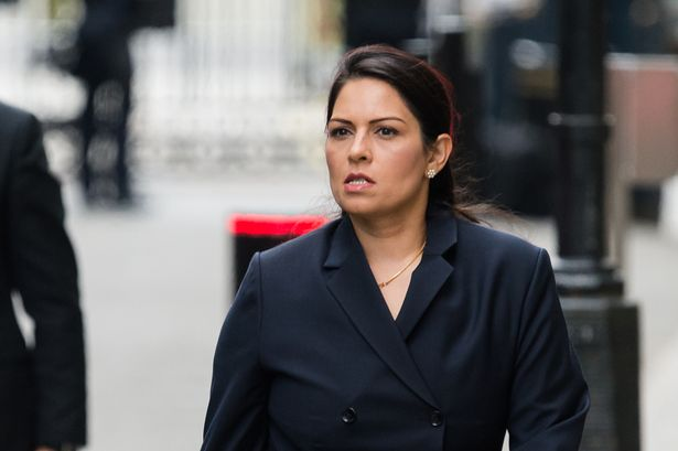 Home Secretary Priti Patel was accused by Labour of a 'flagrant breach' of the ministerial code