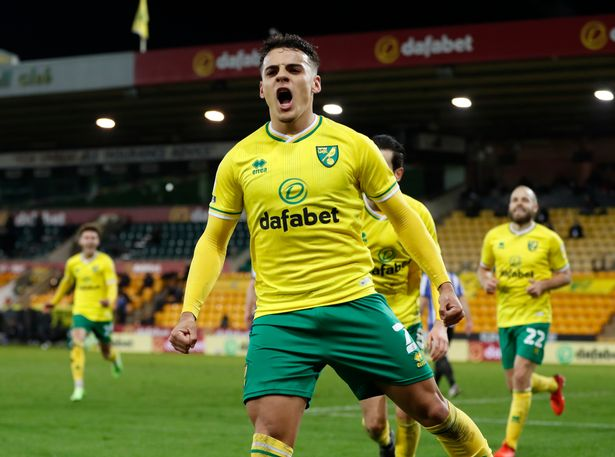 Arsenal are in the mix for Norwich star Max Aarons