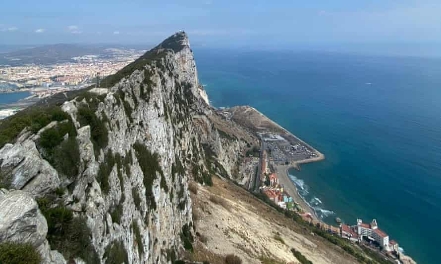 View from The Rock, Gibraltar