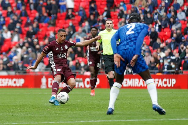 Tielemans scored Leicester's winner in the FA Cup final vs Chelsea at Wembley