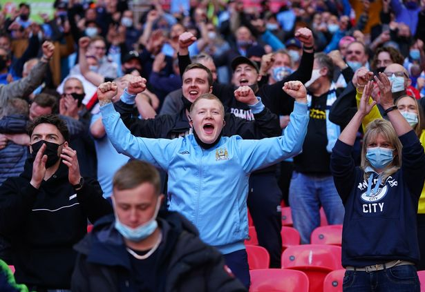 Up to 10,000 fans will be allowed into England's biggest stadiums