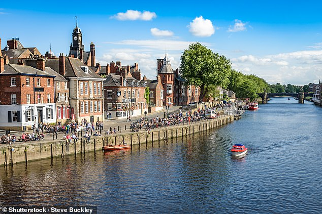 Many have booked staycations but there is now a rise in those looking to travel overseas (pictured: York)