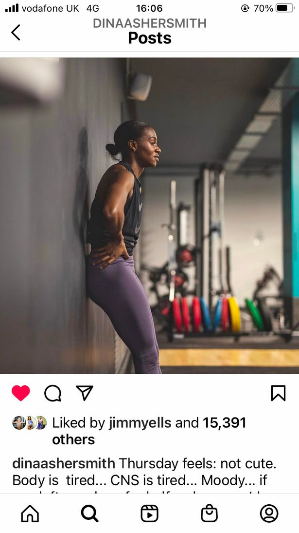 """Asher-Smith on Instagram: """"Don't get bitter, just get better"""""""