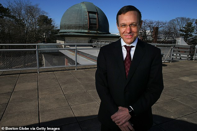 The stark warning comes from Avi Loeb (pictured) in a new Scientific American op-ed, who states an advanced civilization could create powerful machines that send particles and energy speeding through space, which could burn everything in the galaxy – including our own planet