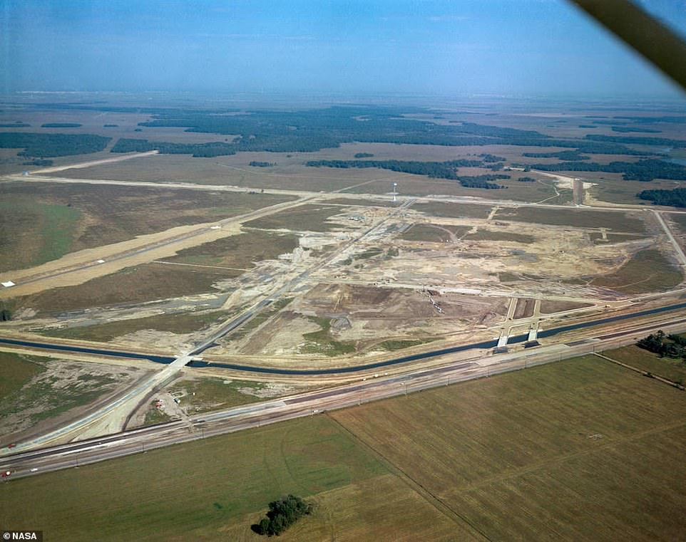 In November of 1961, NASA announced Houston as home to the manned Spacecraft Center that now serves as Mission Control Center for US human space flight missions. Pictured is the land where the facility now stands