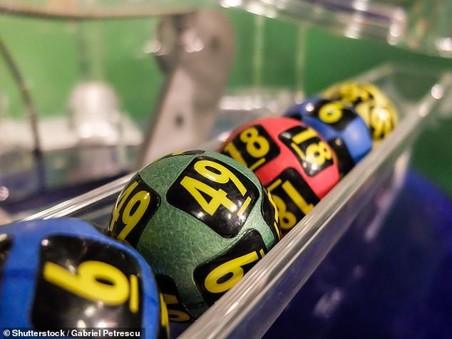 Data for the study was sourced from Vietnam's 2015 Household Registration System Survey — which collectedinformation on both social circles and household expenditures on lottery tickets, numbers of lottery wins and the associated cash prizes. Pictured: lottery balls