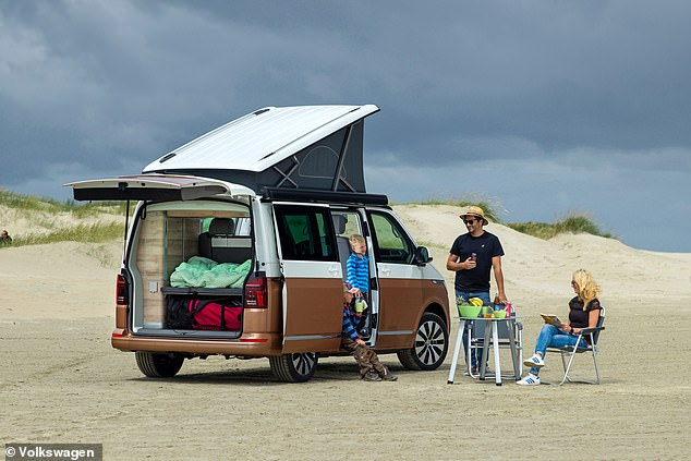 Volkswagen Financial Services say Volkswagen California finance agreements have increased by 621% in the first quarter of 2021 compared to the same period in 2020 as demand for campers booms in Britain