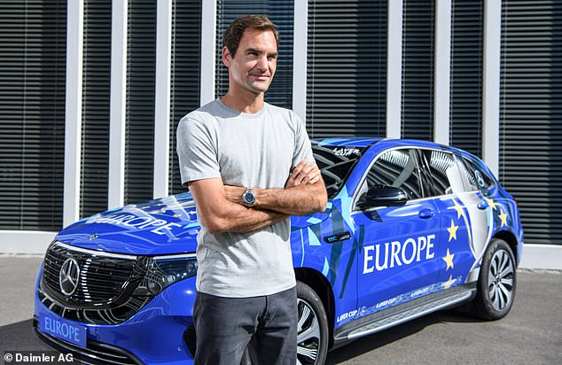 Federer's close relationship with Mercedes as an official ambassador appears to have given the tennis ace first pick of the brand's choice models