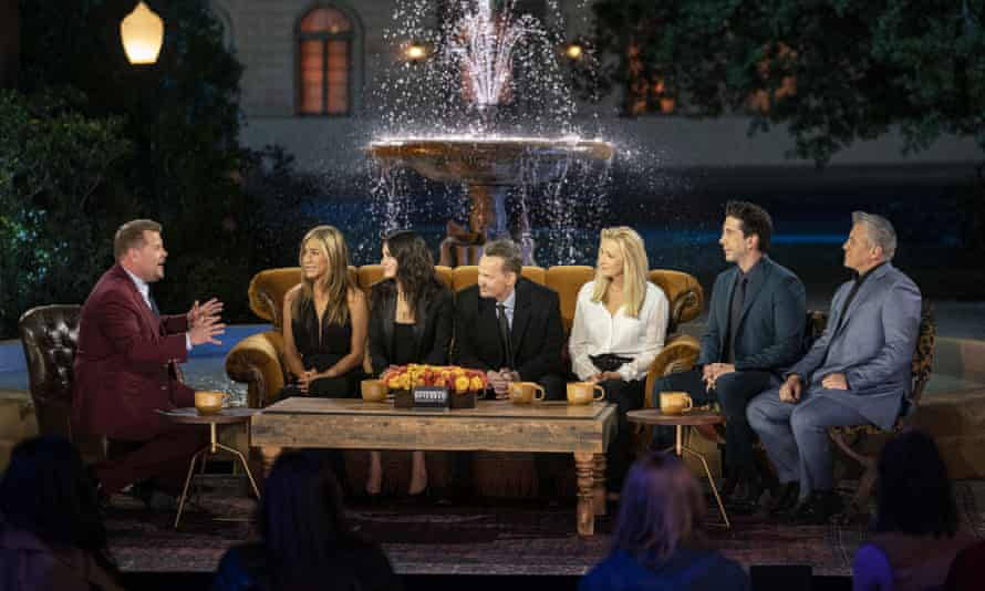 Friends: The Reunion finds Jennifer Aniston, Courteney Cox, Lisa Kudrow, Matt LeBlanc, Matthew Perry, and David Schwimmer joined by moderator James Corden and a star-studded roster of special guests as they relive the show's fan-favorite and unforgettable moments. This once-in-a-lifetime special event honors the iconic series, which continues to permeate the zeitgeist today, with a hilarious and heartfelt night full of laughter and tears. Could we be any more excited?
