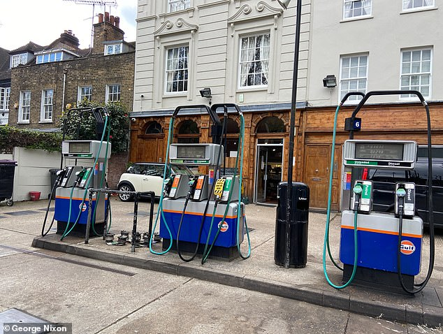 Ian is looking out for potential spots to place a new ATM if the request is approved. A local petrol station might be an option, but the owner isn't particularly keen over fears of theft