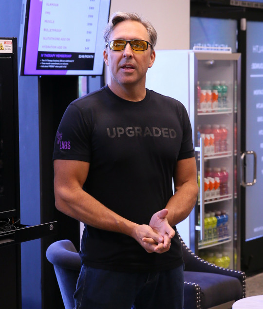 SANTA MONICA, CA - OCTOBER 11: Dave Asprey attends the Bulletproof Labs launch on October 11, 2017 in Santa Monica, California. (Photo by JB Lacroix/ Getty Images)