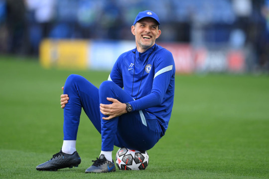Thomas Tuchel, Manager of Chelsea looks on during the Chelsea FC Training Session ahead of the UEFA Champions League Final between Manchester City FC and Chelsea FC at Estadio do Dragao on May 28, 2021 in Porto, Portugal.