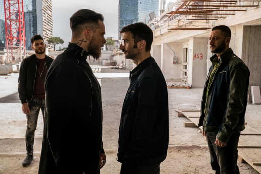 A scene from the hit TV series Gomorrah, based on Roberto Saviano's book.