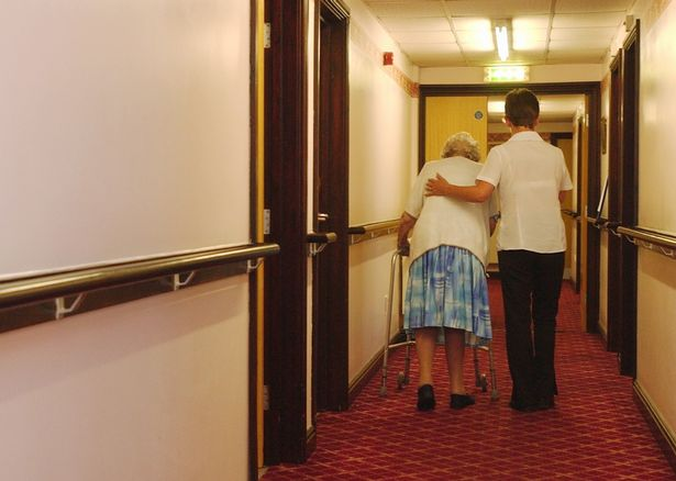 Hundreds of care home residents died in outbreaks which were 'seeded' from hospitals (stock pic)
