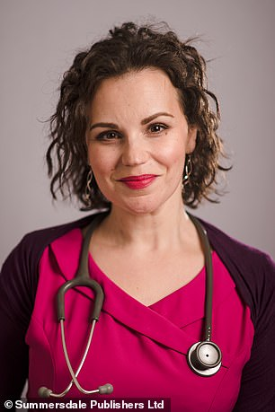Dr Philippa Kaye, pictured, is worried that some patients are being prescribed anti-heartburn medication for too long and as a result are running the risk of brittle bones