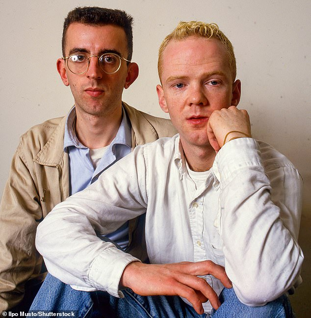 Richard withJimmy Somerville in The Communards