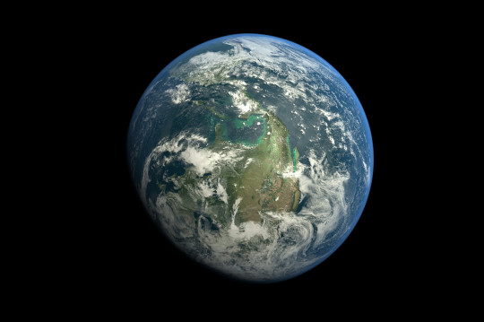Earth seen from space (Getty)