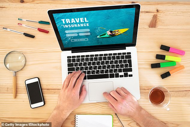 Flight risk: Hopeful holidaymakers should beware that their travel insurance may not pay out if they do choose to go