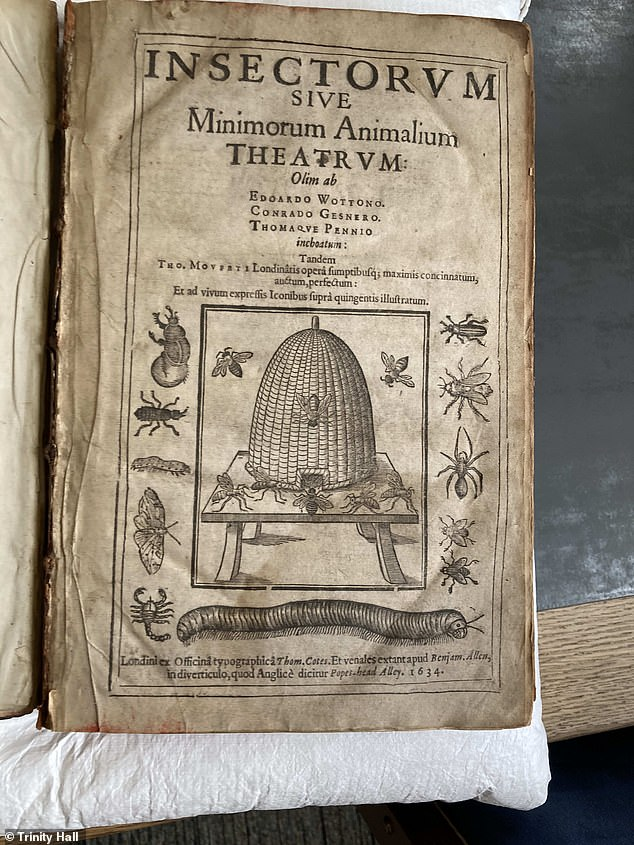 The book's true title is a bit of a mouthful: Insectorum sive Minimorum Animalium Theatrum