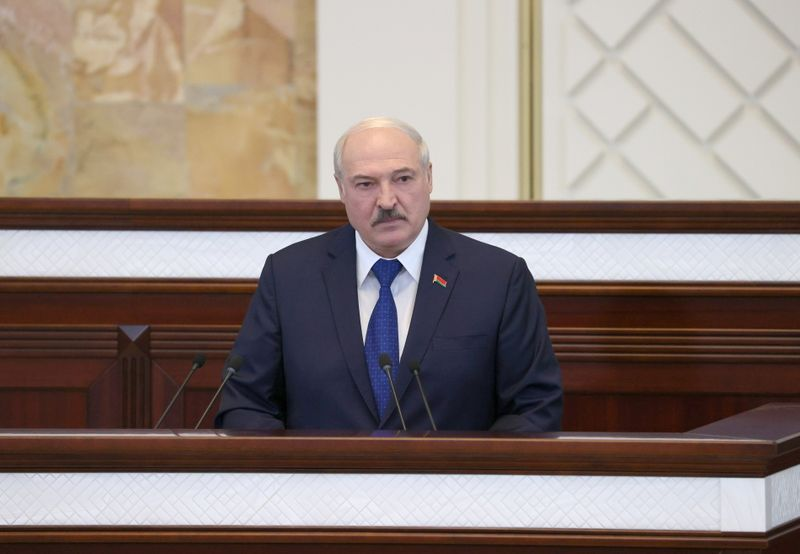 Belarus leader accuses West of using plane incident to try to undermine him