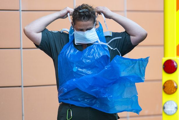 Hospitals saw shortages of PPE in the early months of the pandemic