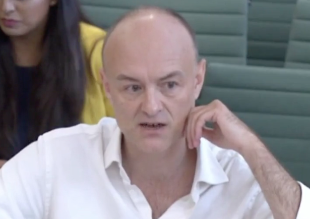 Dominic Cummings gives evidence to MPs on the Government's handling of the coronavirus pandemic