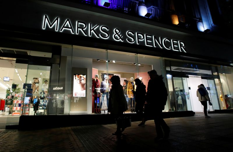 Britain's M&S expects profit recovery after 88% slump