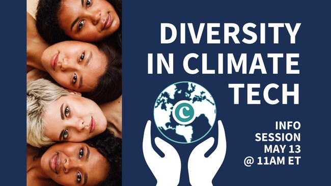 Diversity in ClimateTech Info Session May 13