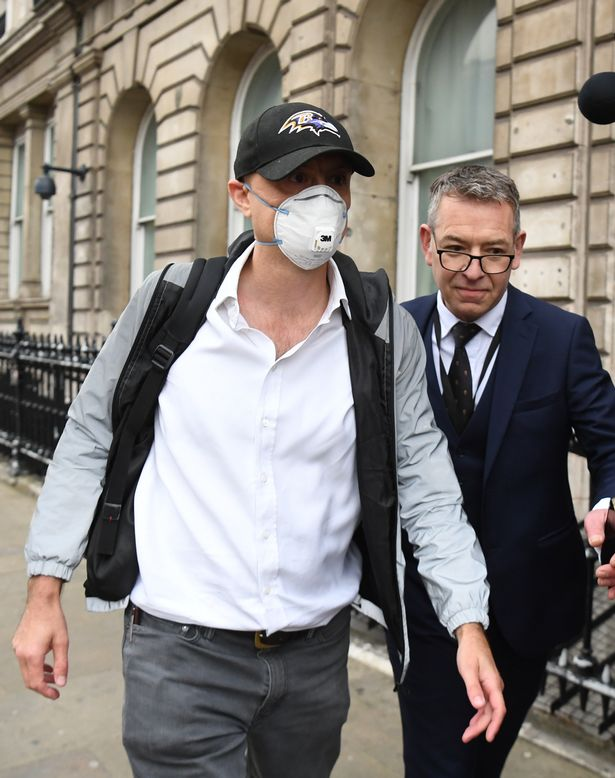 Dominic Cummings, pictured arriving to today's hearing, said tens of thousands of people died needlessly