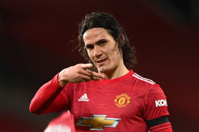 Edinson Cavani 'agrees new one-year deal' to stay at Manchester United