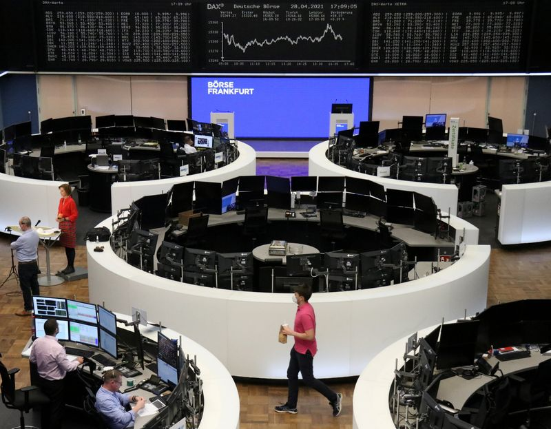 European stocks jump as energy, retail rise; ends lower for the week