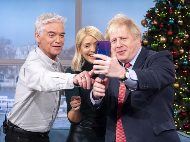Boris Johnson leaned in for an ill-advised selfie with the hosts of This Morning