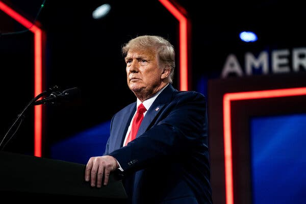 Former President Donald J. Trump has continued to deny the results of the 2020 presidential election.