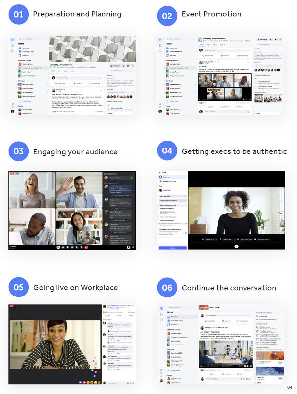 Facebook Workplace video guide