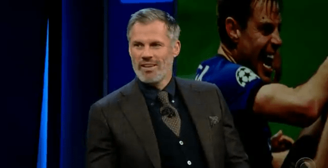 Jamie Carragher joked the Champions League line-up was an 'absolute nightmare'