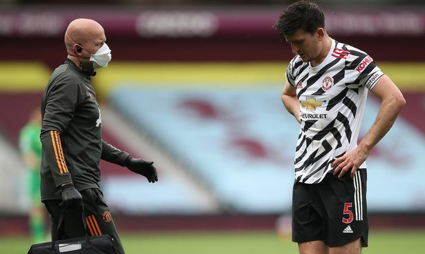Harry Maguire has ligament damage but is expected to make a fairly swift return