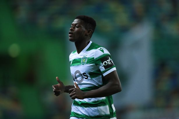 Sporting youngster Nuno Mendes has been linked with Liverpool