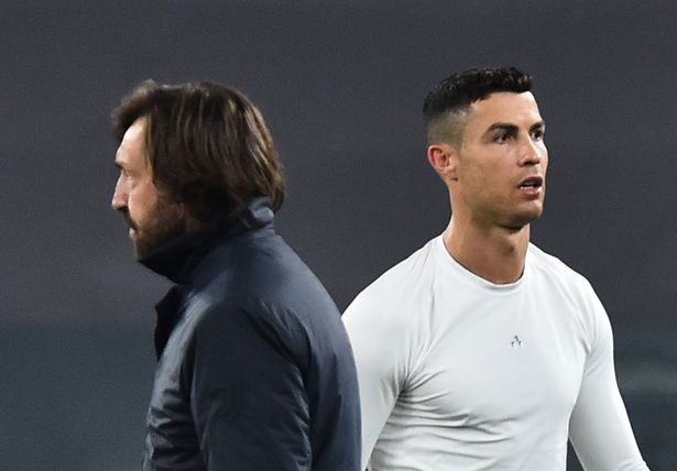 Pirlo was sacked despite Nedved claiming neither he nor Ronaldo would leave this summer