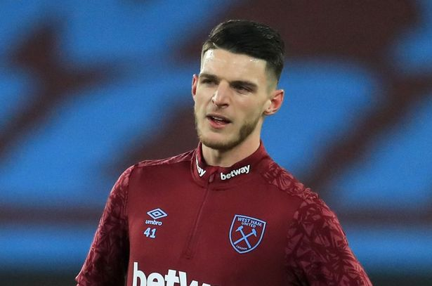 Declan Rice has discussed life at Manchester United with international teammates Harry Maguire and Luke Shaw