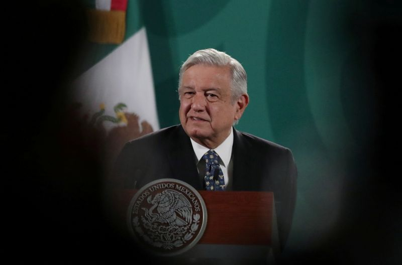 Mexico's president backs probe of opposition governor candidates