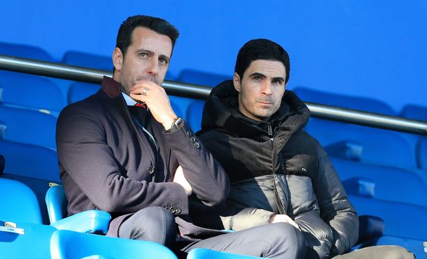 Mikel Arteta and Edu reportedly disagreed on the club's top transfer target last summer