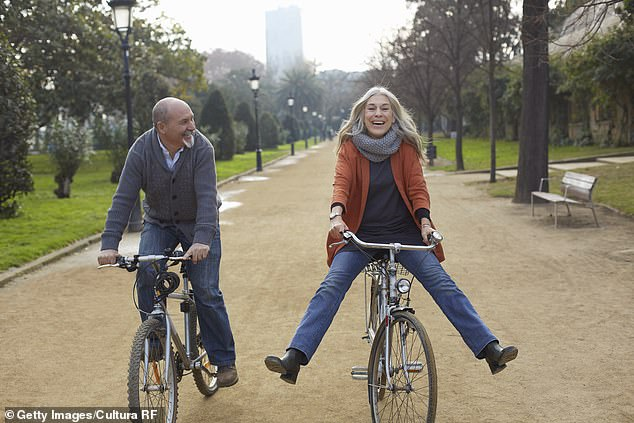 A survey conducted among 2,000 Americans reveals 77 percent of those over 40 years old feel seven years young than they really are and nearly half refuse to admit they are aging
