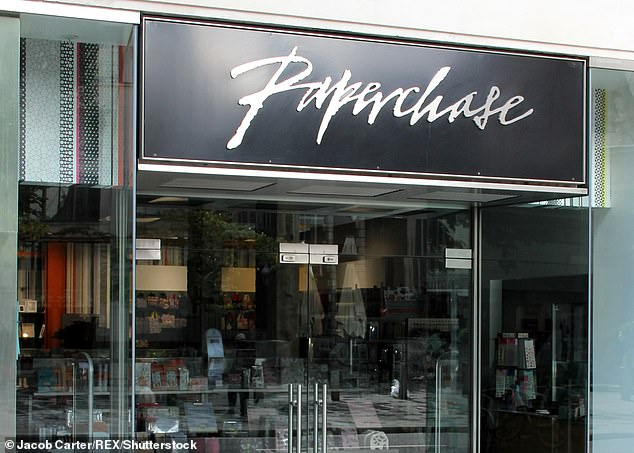 Boardroom shake up: Stationery retailer Paperchase is hunting for a new chairman after retail veteran Nick Wood agreed to step down earlier this month